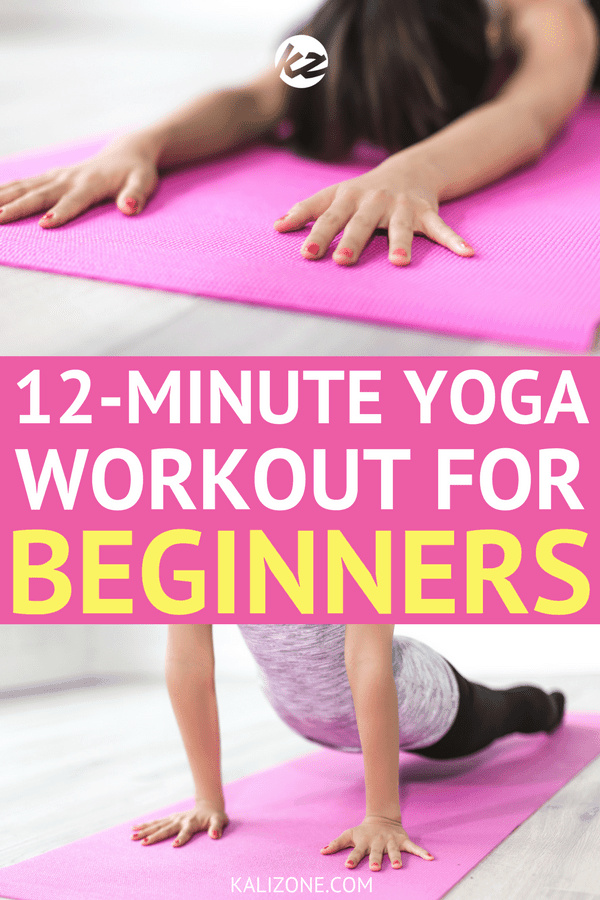 12 minute yoga workout for beginners
