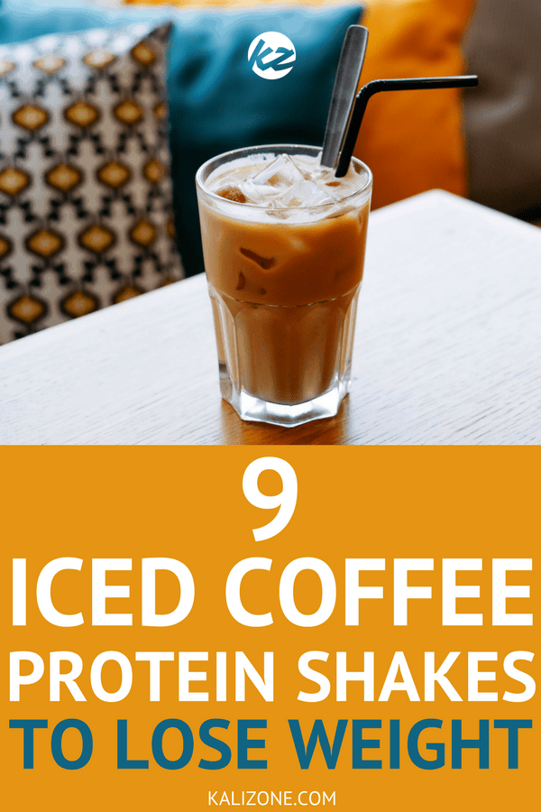 Try one these 9 iced coffee protein shakes for breakfast to help with your weight loss.