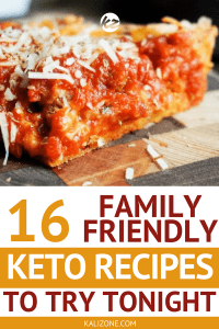 Your family won't need much convincing with these delicious, family friendly keto recipes.