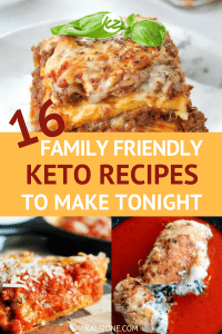 Your family will love these delicious - and simple family friendly keto recipes.