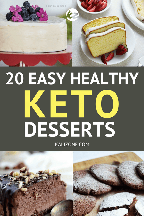 Healthy, easy keto desserts you can make