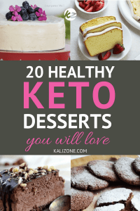 Try one of these delicious keto desserts, and stay in ketosis!