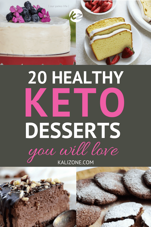 Healthy delicious keto desserts you will love! Try one of these delicious keto desserts, and stay in ketosis!