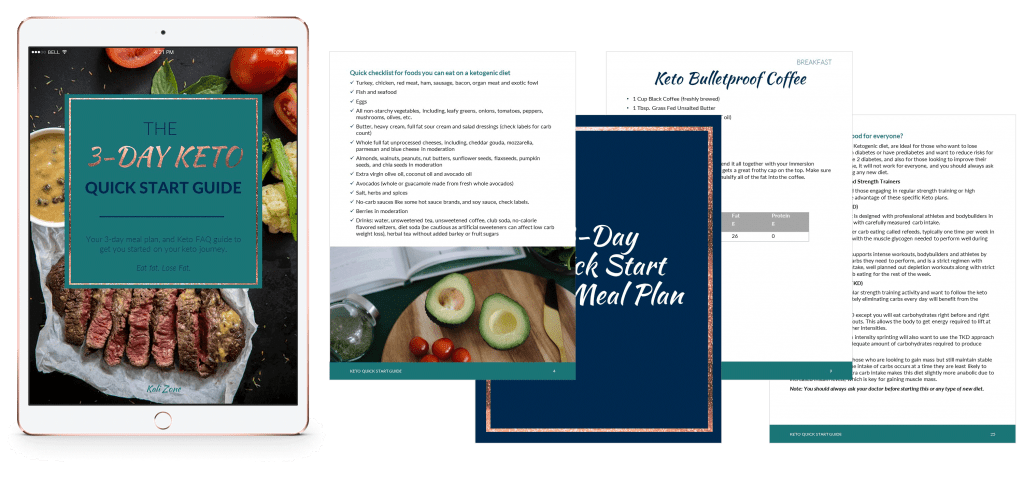 3 Day Keto Quick-Start Guide