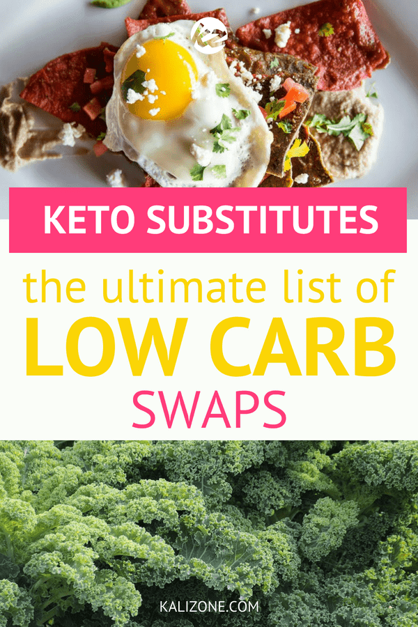 There are so many delicious, healthy options to replace carbs with.