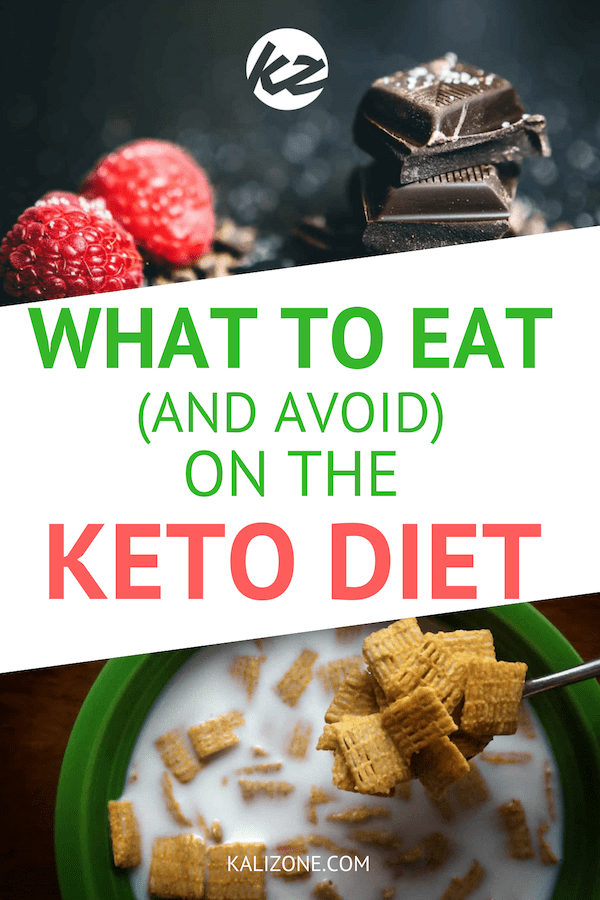What to eat (and what to avoid) on the keto diet.