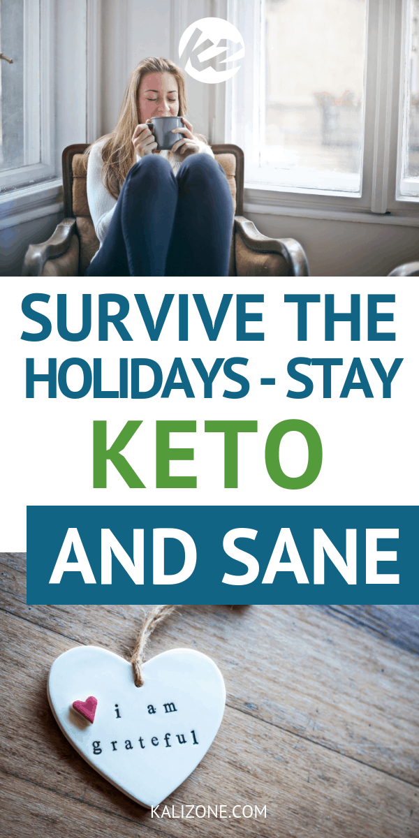 The holiday season is upon us and we're about to be bombarded by deliciously addictive sugary and starchy foods and the stress that the holidays tend to bring. This guide will help you deal with it all, while staying sane and keeping keto!