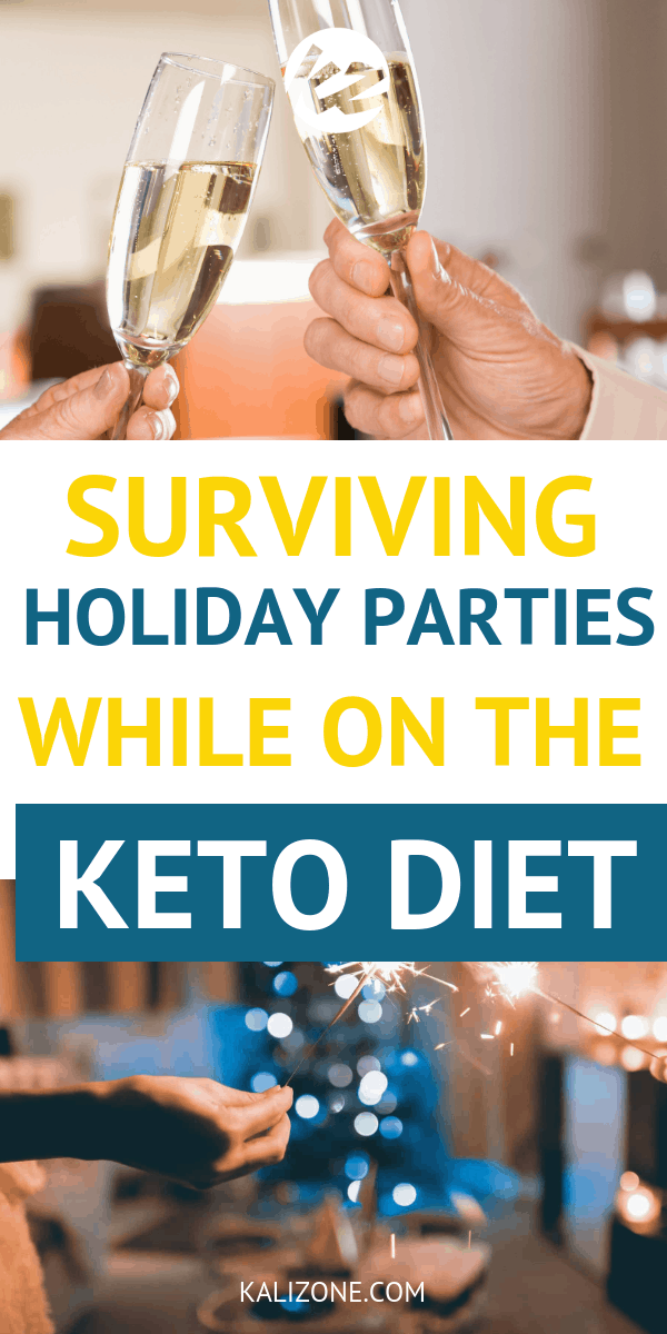 From holiday parties to family gatherings, follow these tips for success for dealing with holiday parties while on the keto diet.