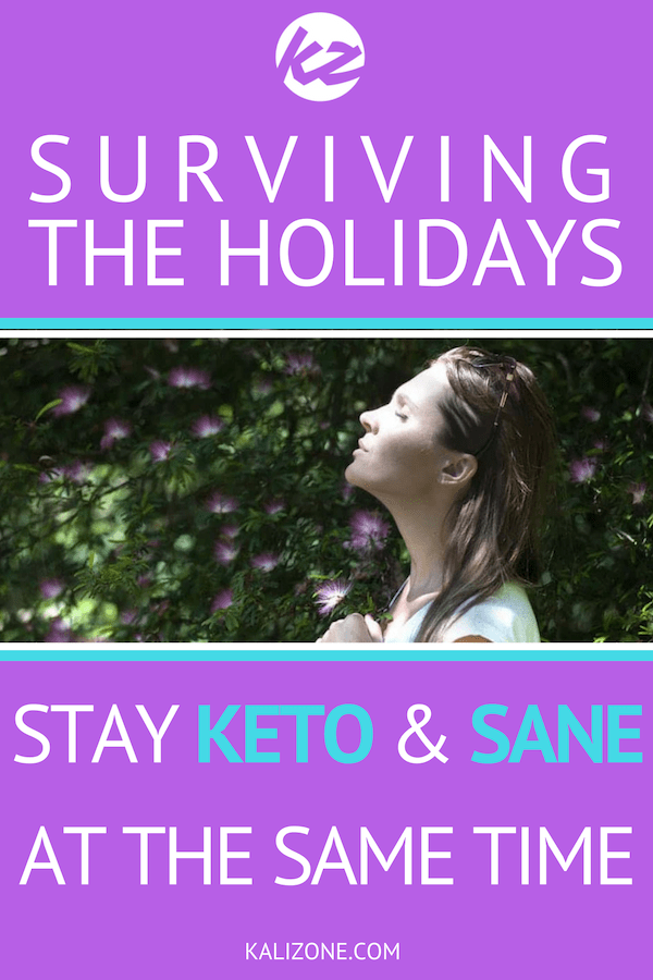 The combination of delicious foods and stress can be a difficult combination at the best of times. Here are some tips to cope when trying to stick to the Keto diet. #keto #ketodiet