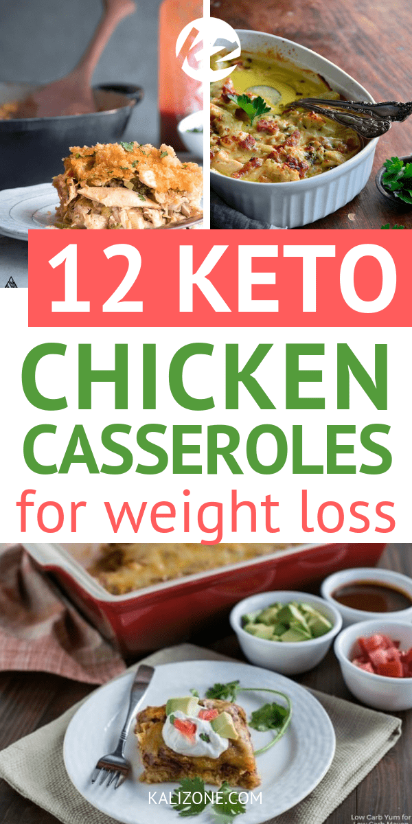 Keto chicken casseroles are so easy to make - and delicious too. Have a look at this list of easy keto chicken casserole recipe for your next dinner.