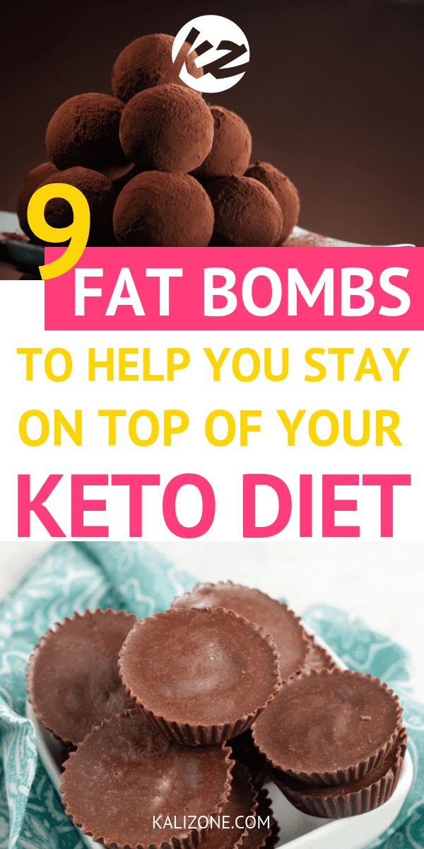 Keeping up with your macros on the ketogenic diet isn't always easy. Sometimes we need fat bombs to help us out. Here are 9 keto fat bombs that are going to help you stay on top of your macros.