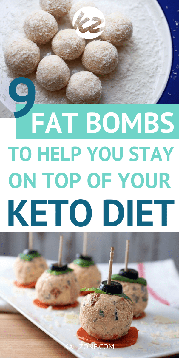 When you're struggling to reach your macros on the ketogenic diet, you need to look at fat bombs. They help you stay on track and reach ketosis. Here are 9 keto fat bombs that you're going to need.