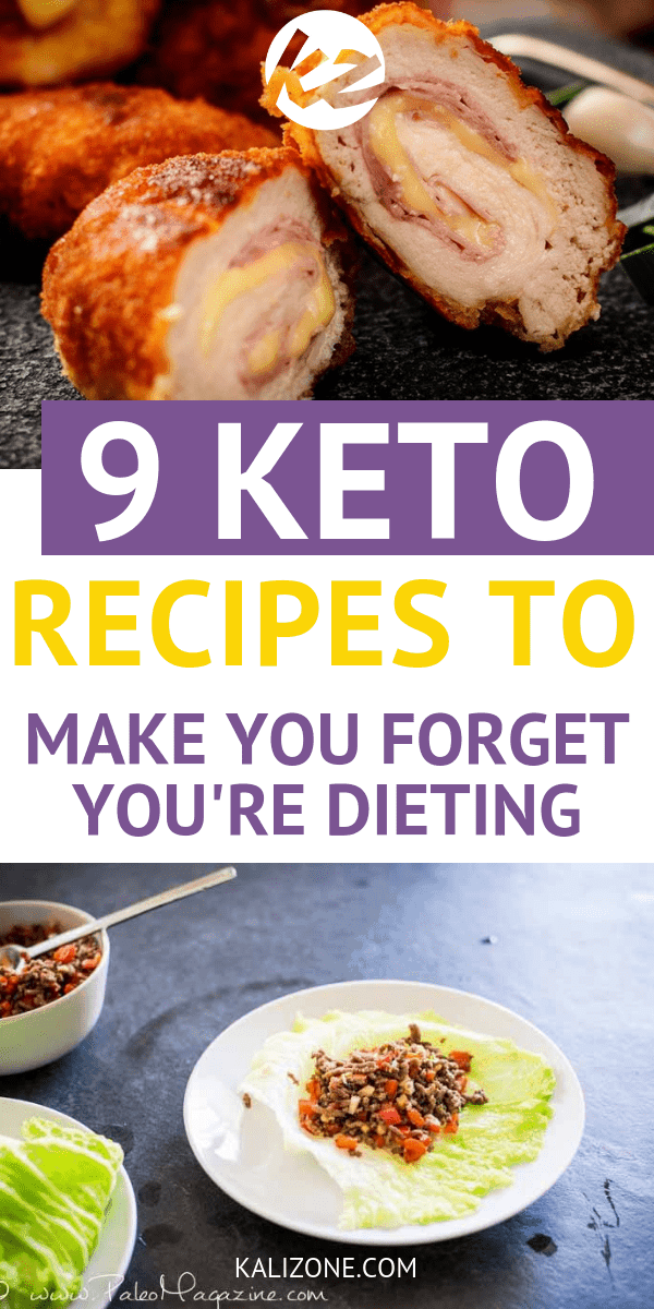 9 Keto Recipes to Make You Forget You're Dieting