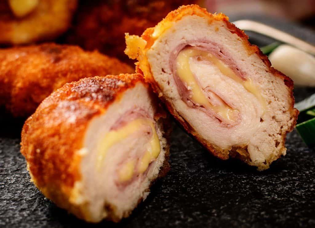 Keto Oven Baked Chicken Cordon Bleu