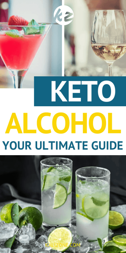 The ketogenic diet allows you to have drinks. However, you need to drink the proper things. Here is a detailed guide to help you stay on track with your diet and keep you in ketosis.